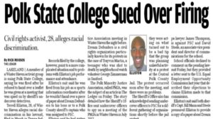 Former Polk State College employee fired after over document.
